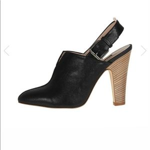 SJP Mason booties with strap